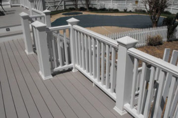 Composite Multi level Deck