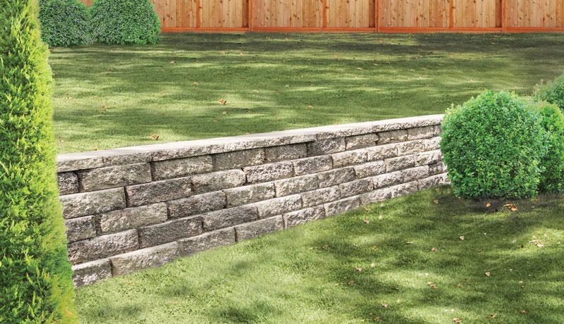 Retaining Wall Rockface