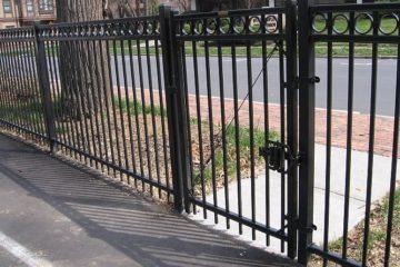 Aluminium Metal Fence